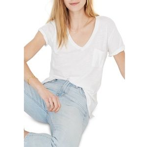 Madewell whisper pocket T Size Small